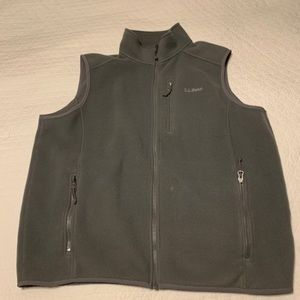 L.L. Bean Fleece Vest Size Large